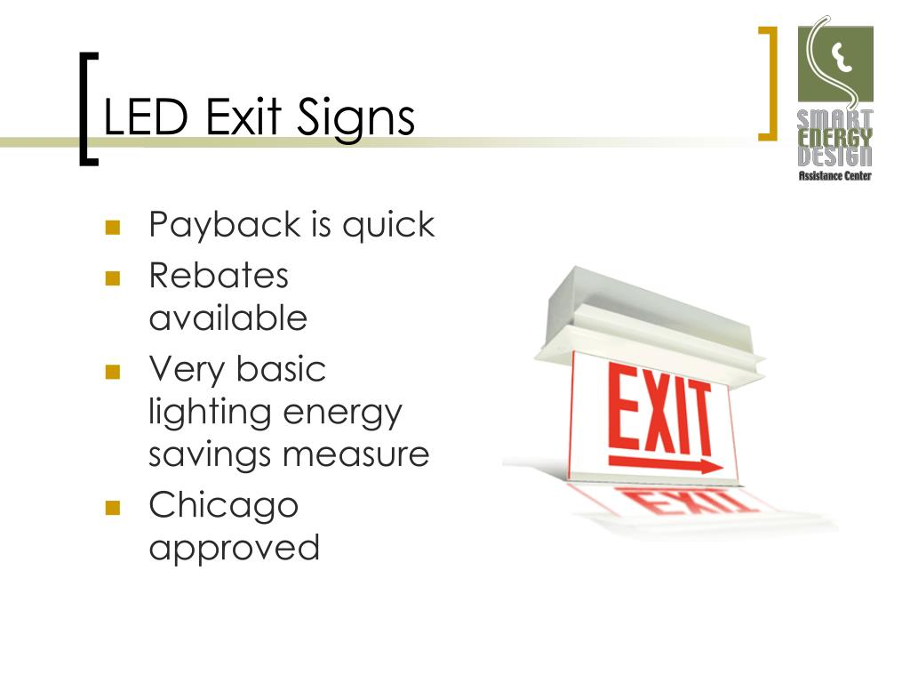 LED Exit Signs