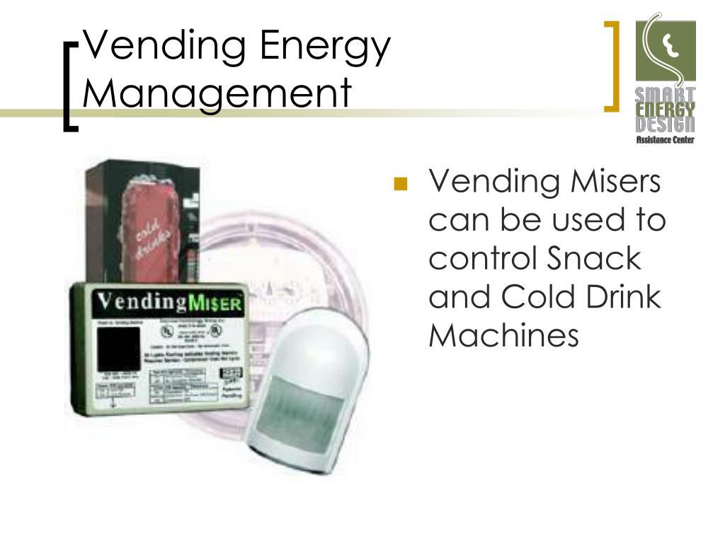 Vending Energy Management