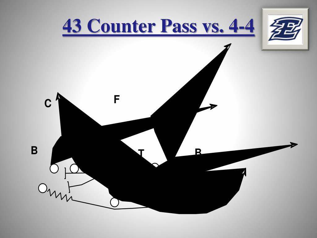 43 Counter Pass vs. 4-4