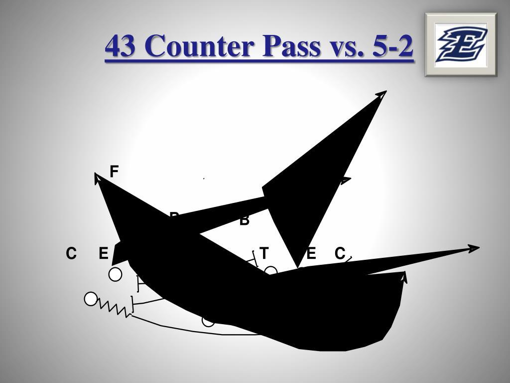 43 Counter Pass vs. 5-2