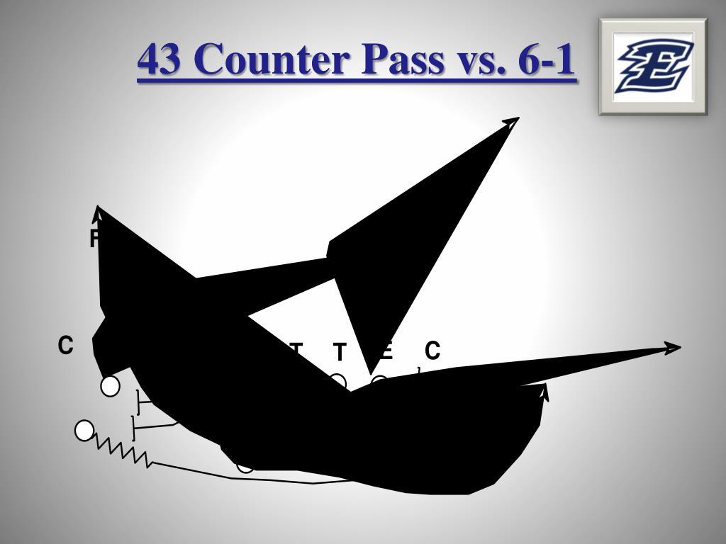 43 Counter Pass vs. 6-1