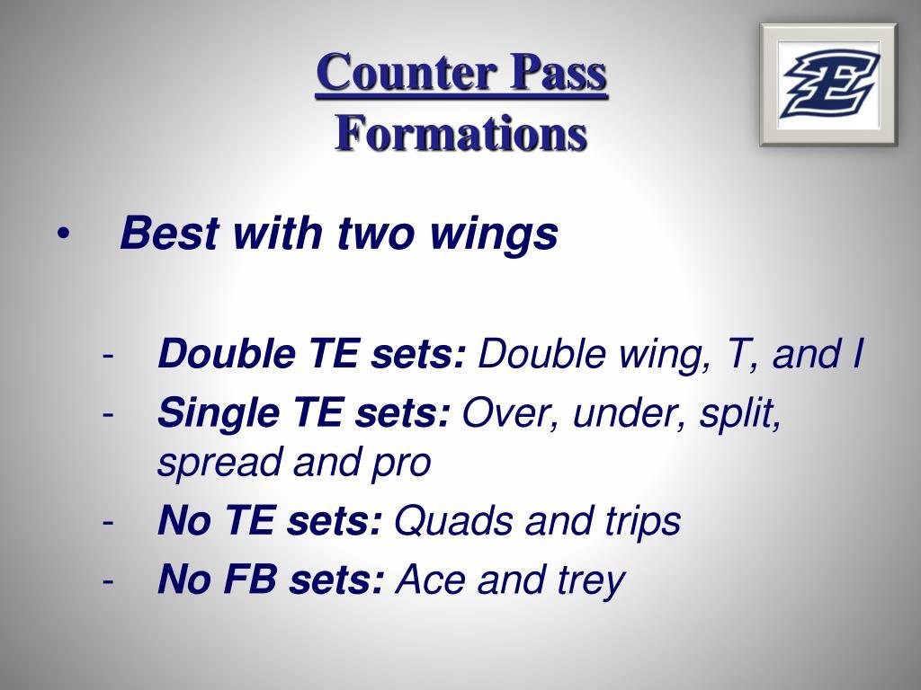 Counter Pass