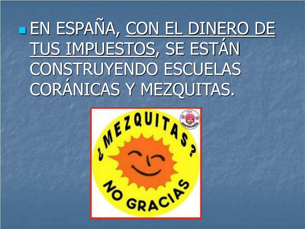 EN ESPAÑA,