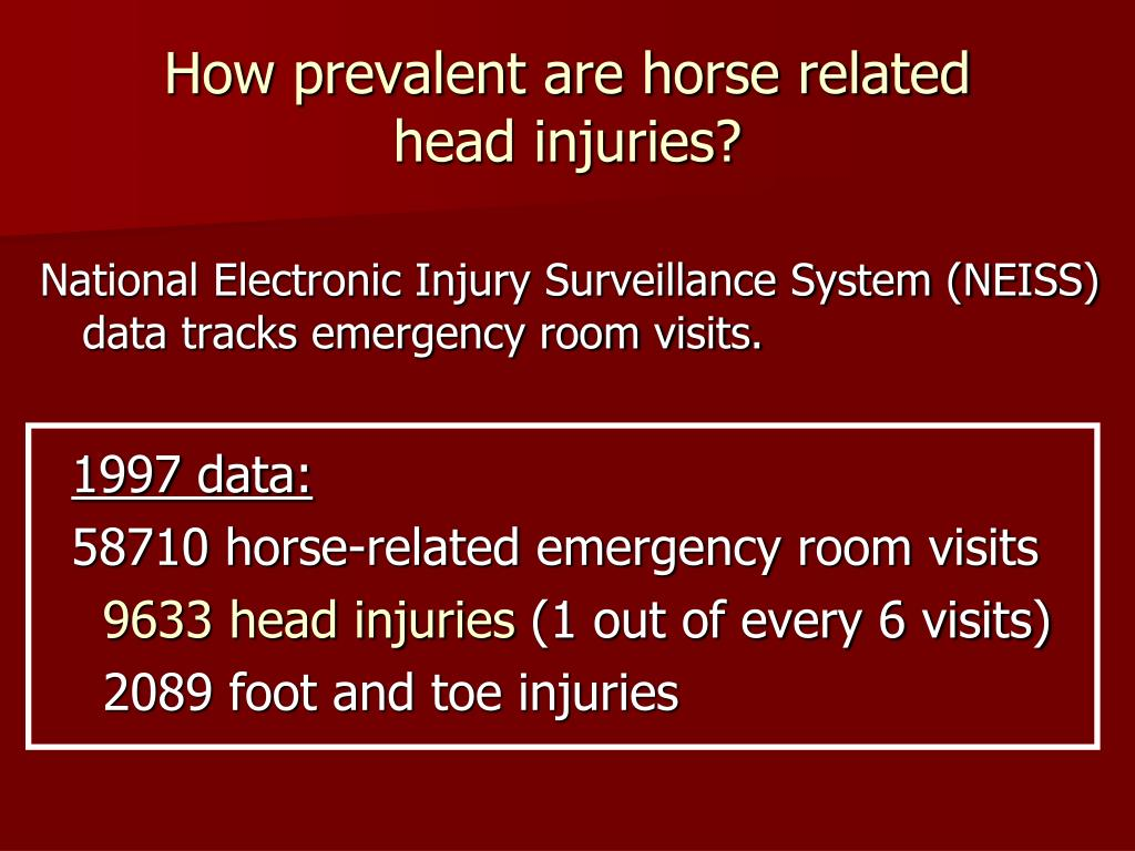 How prevalent are horse related