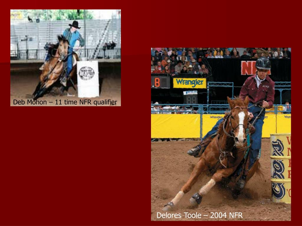 Deb Mohon – 11 time NFR qualifier