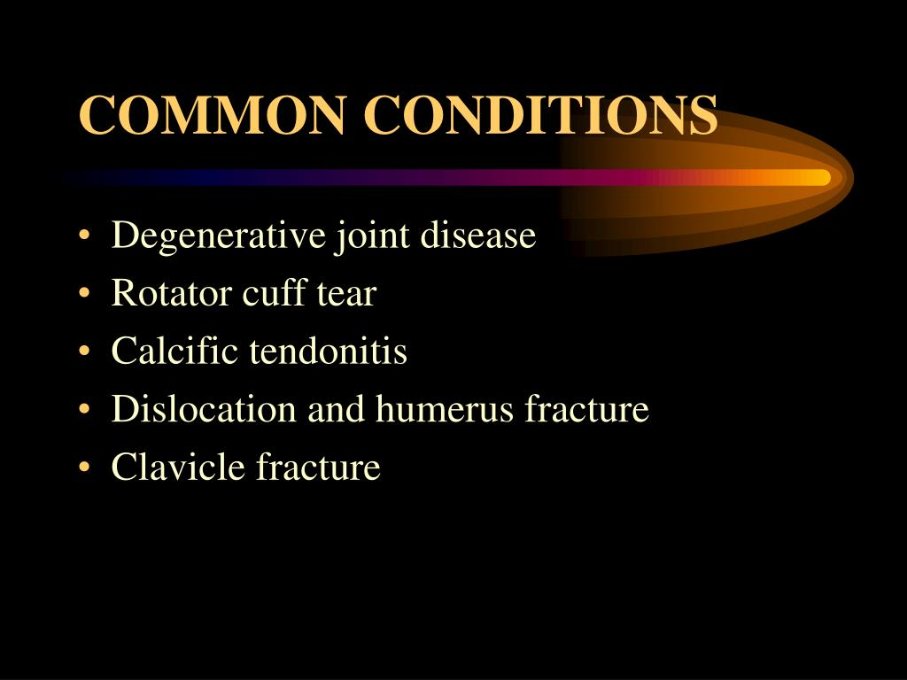 COMMON CONDITIONS