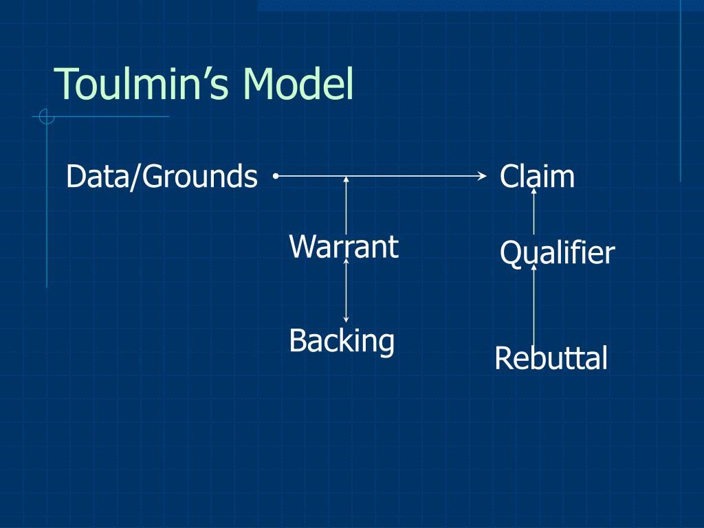 Toulmin's Model