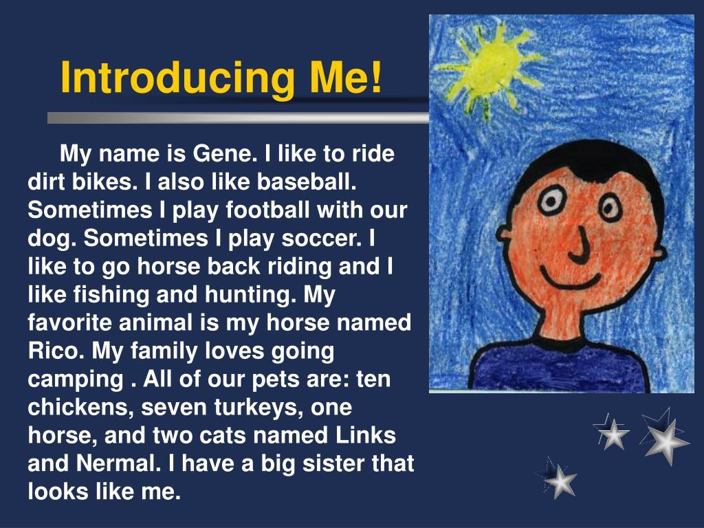 Introducing Me!