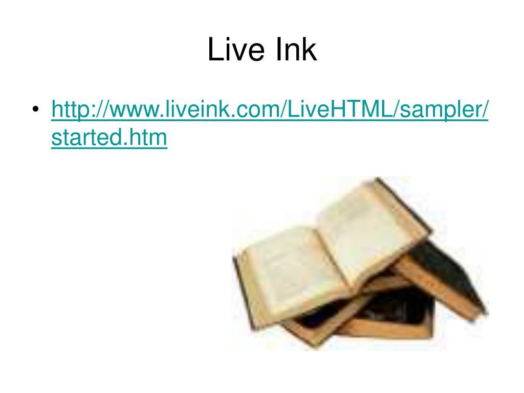 Live Ink