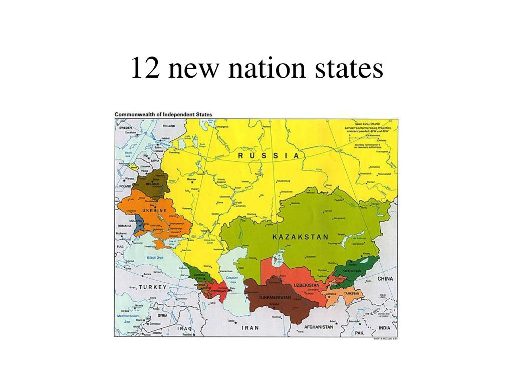 12 new nation states