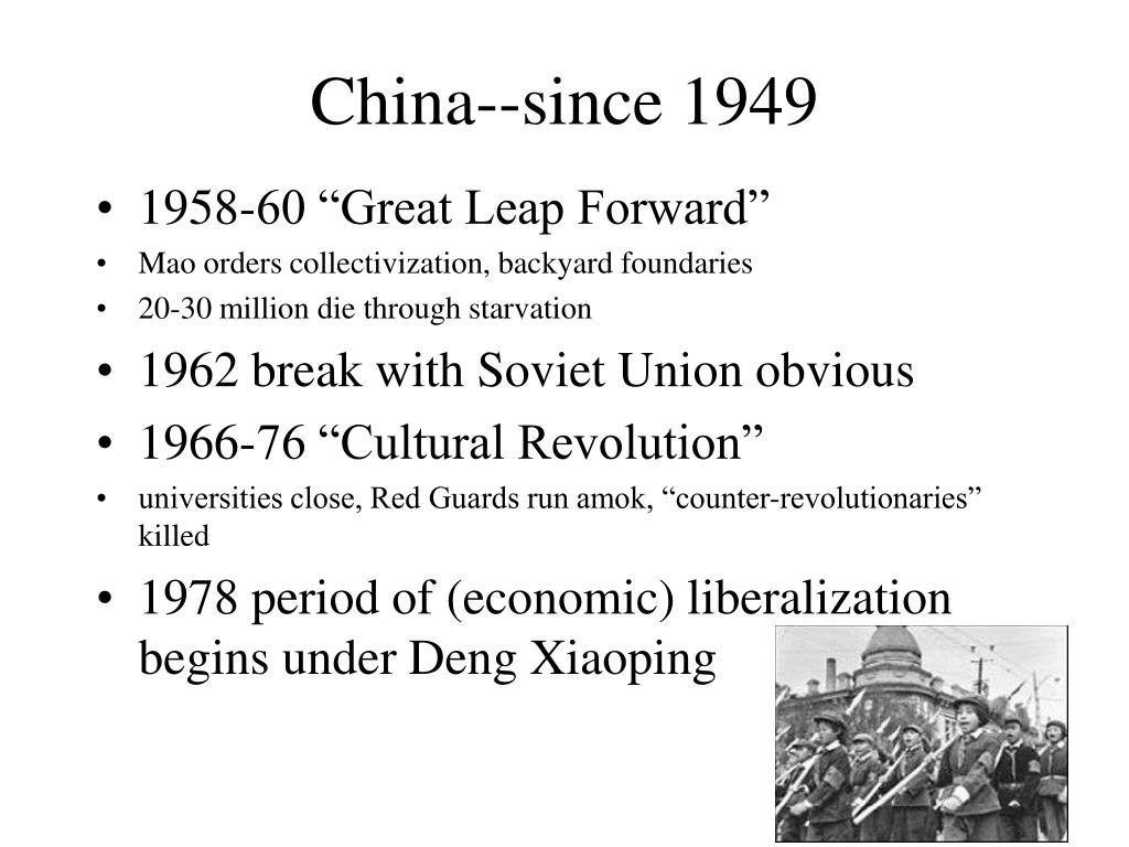 China--since 1949