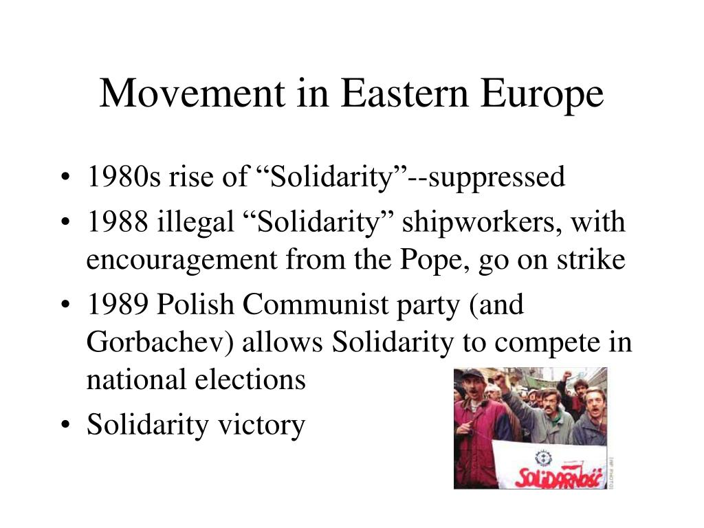 Movement in Eastern Europe