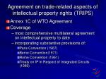 agreement on trade related aspects of intellectual property rights trips