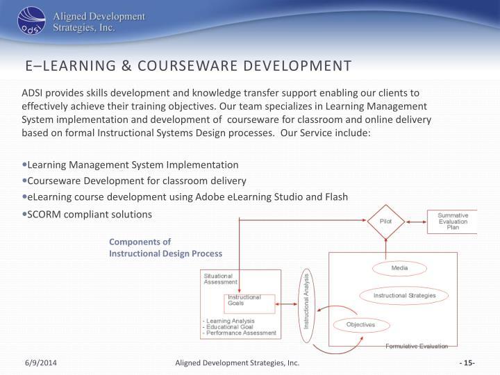 e–Learning & Courseware Development