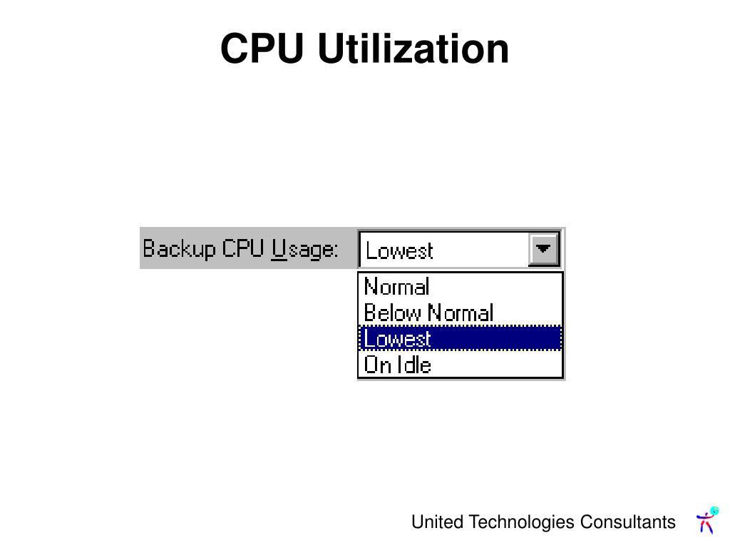 CPU Utilization