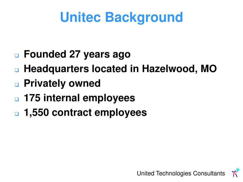 Unitec Background