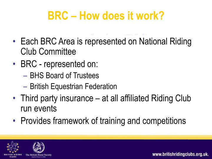 Brc how does it work