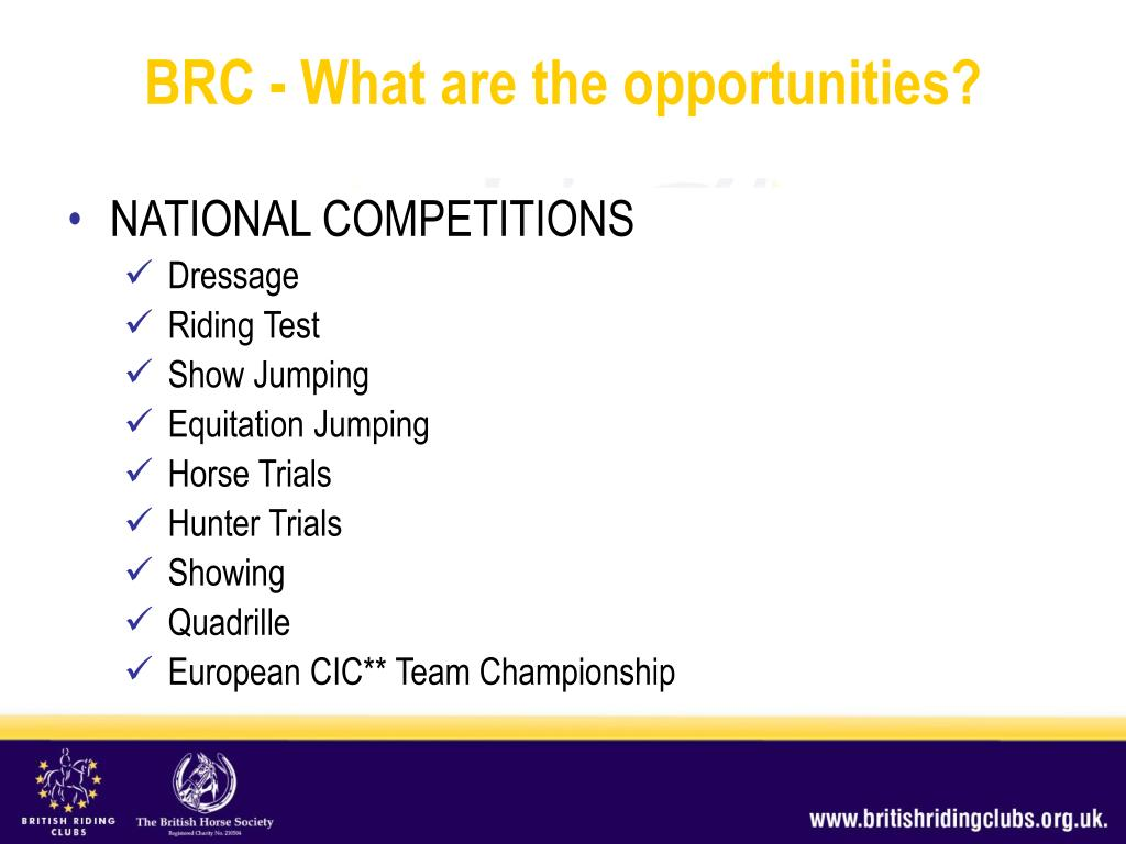 NATIONAL COMPETITIONS