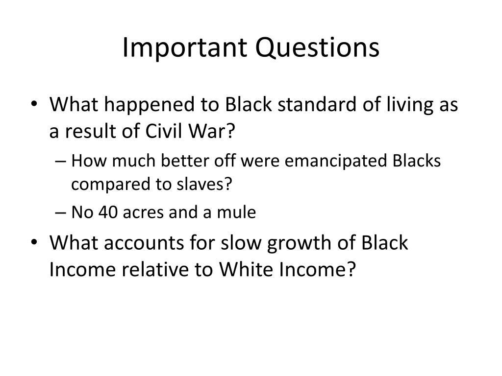 Important Questions