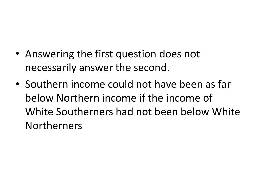 Answering the first question does not necessarily answer the second.