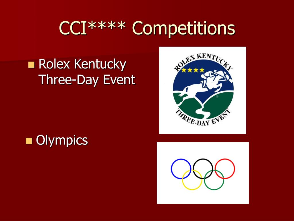 CCI**** Competitions