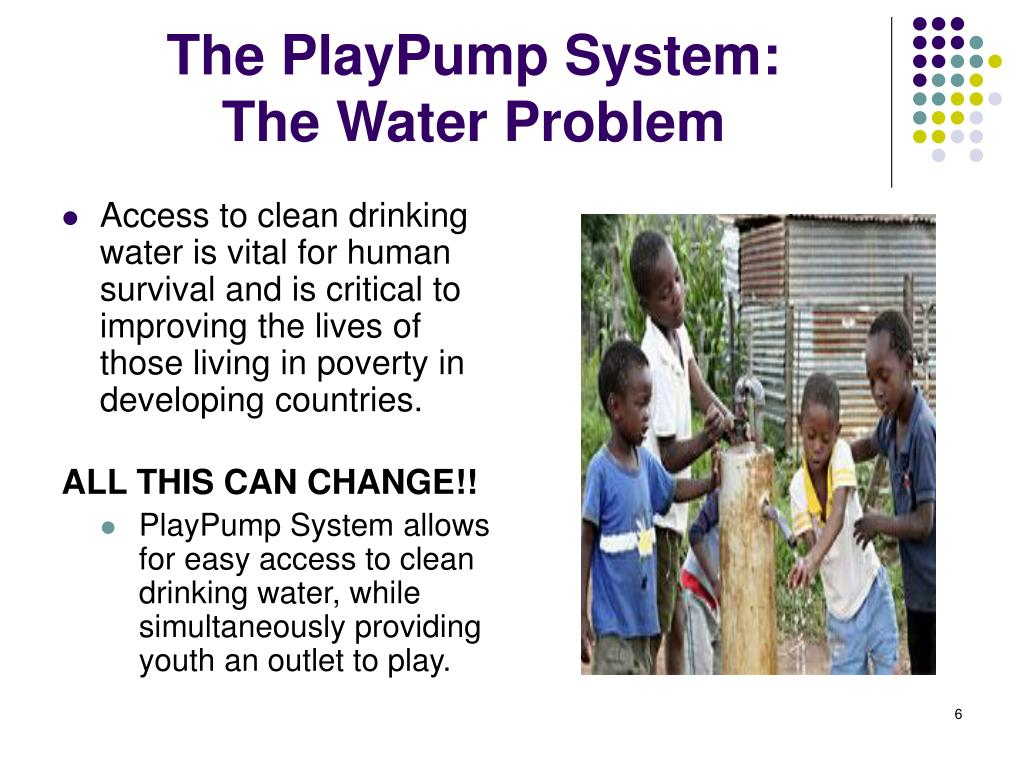 The PlayPump System:
