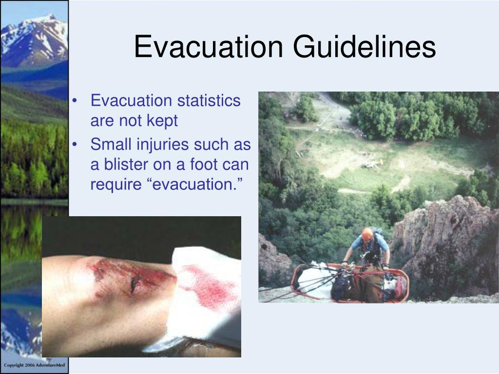 Evacuation Guidelines