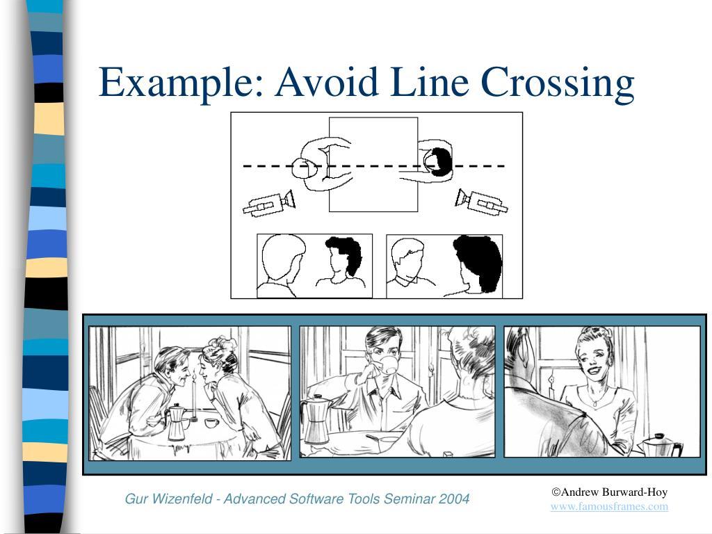 Example: Avoid Line Crossing