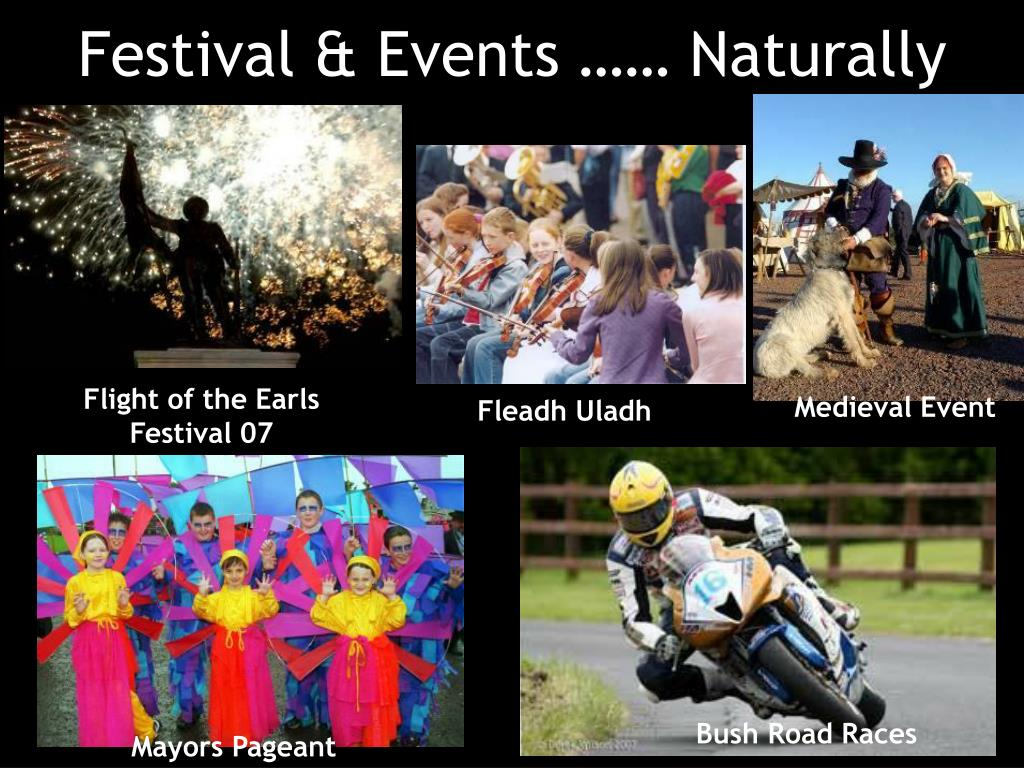 Festival & Events …… Naturally