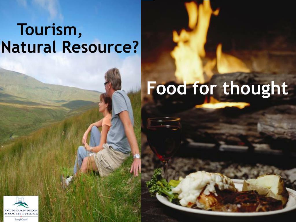 Tourism - A Natural Resource