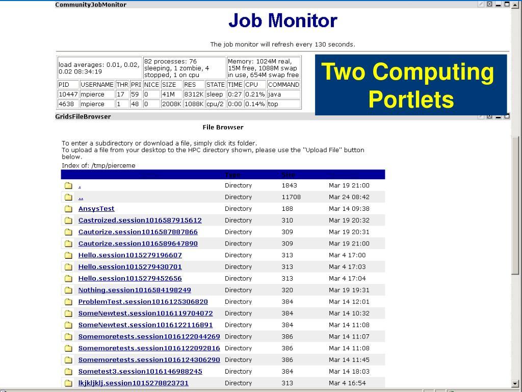 Two Computing