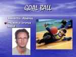 goal ball