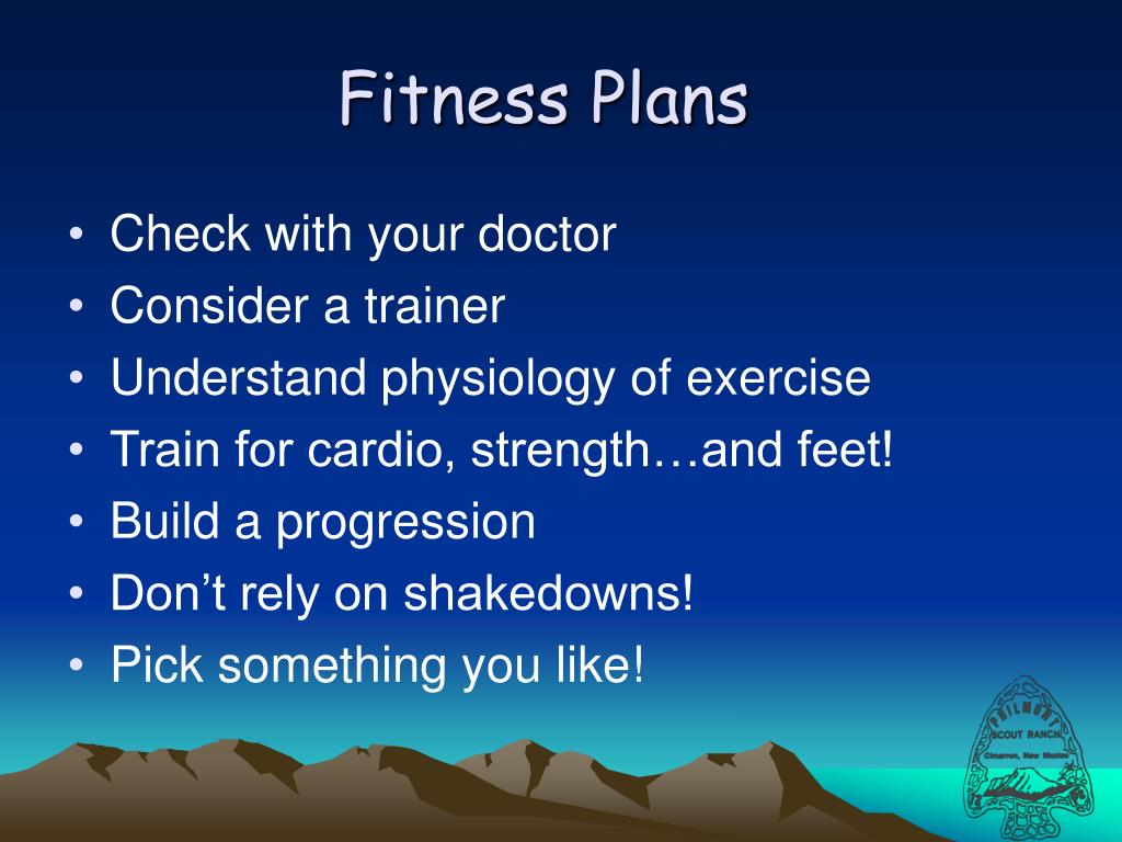Fitness Plans