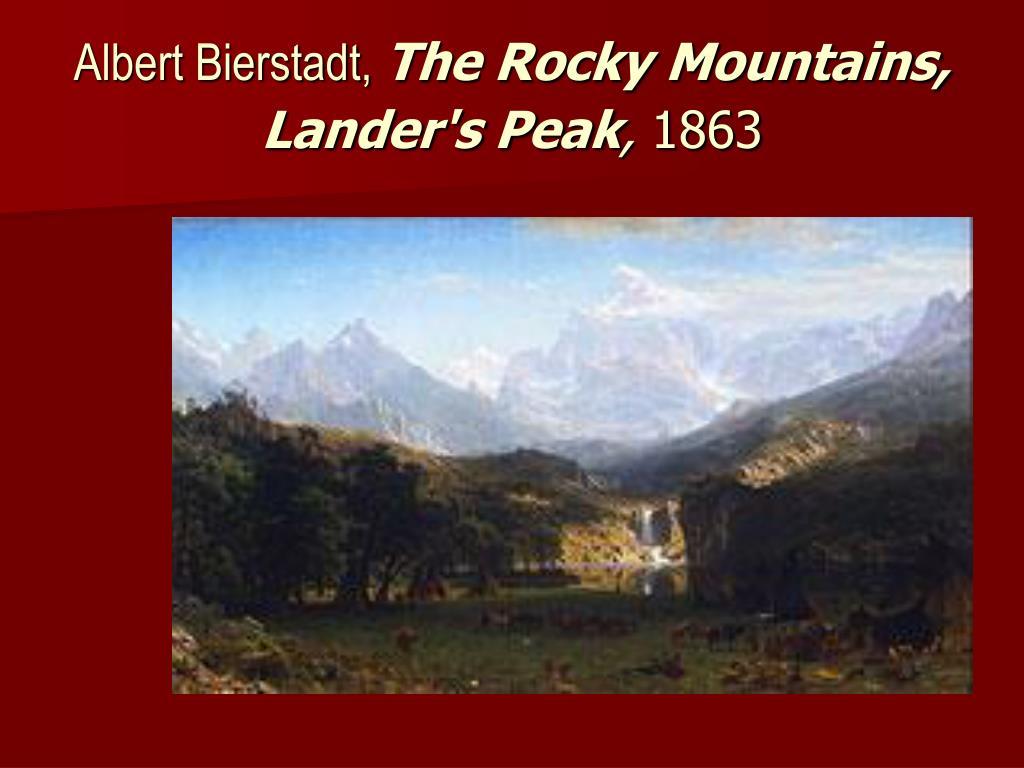 Albert Bierstadt,