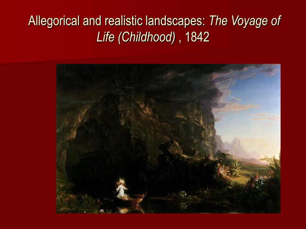 Allegorical and realistic landscapes: