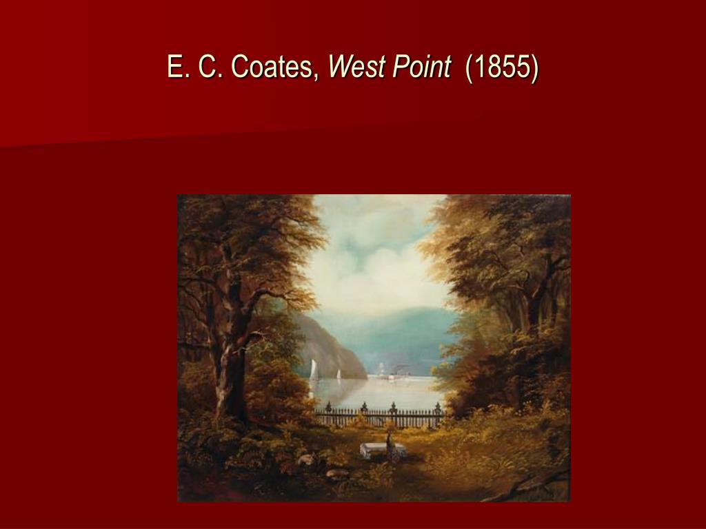 E. C. Coates,