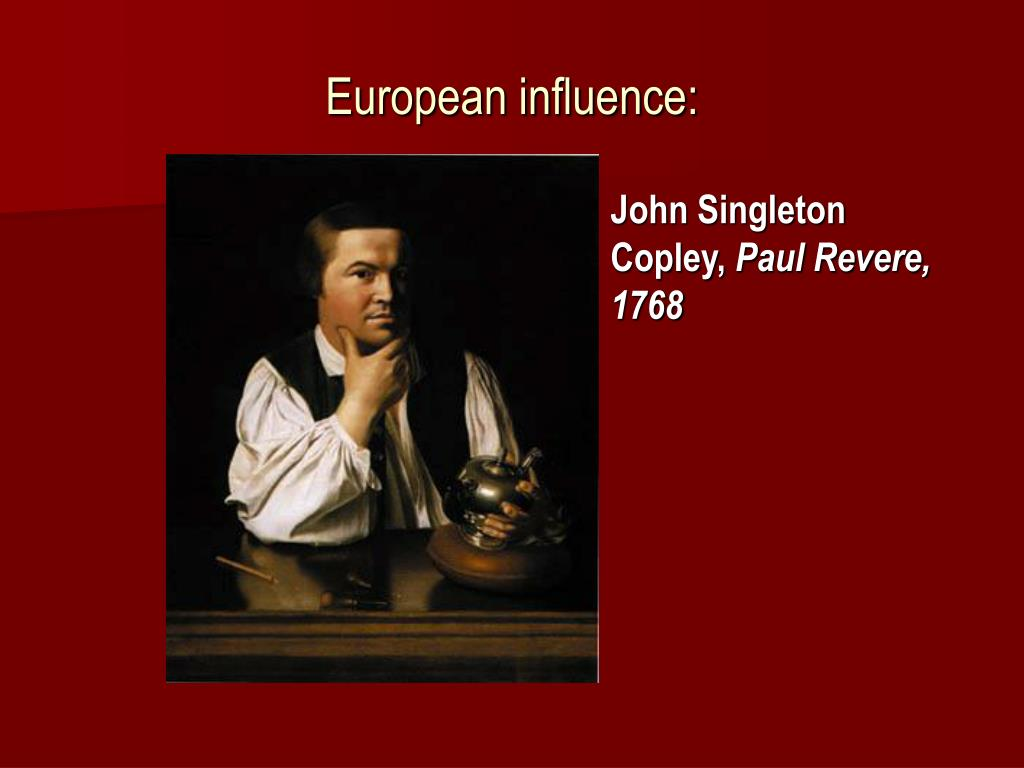 European influence: