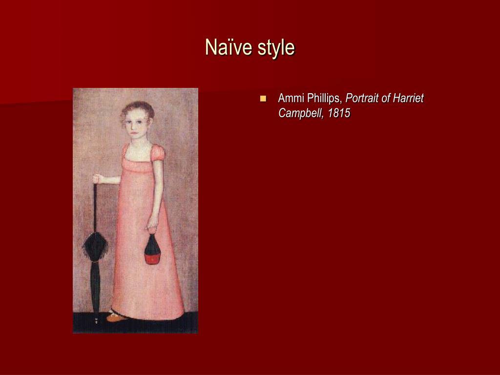 Naïve style