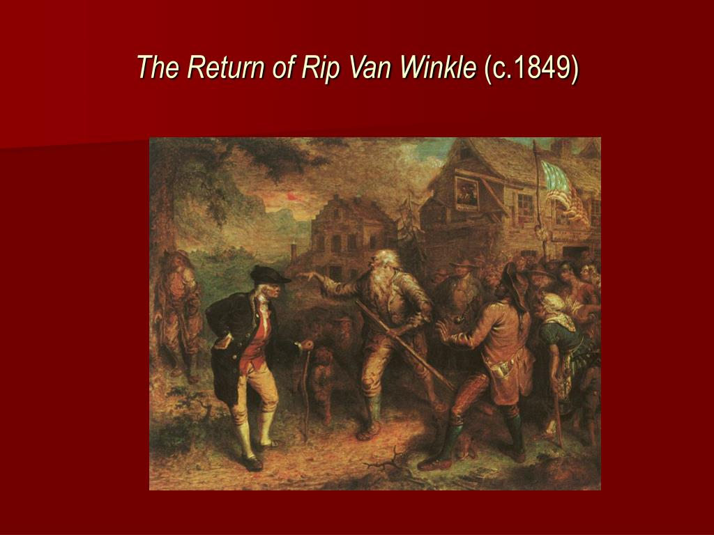 The Return of Rip Van Winkle