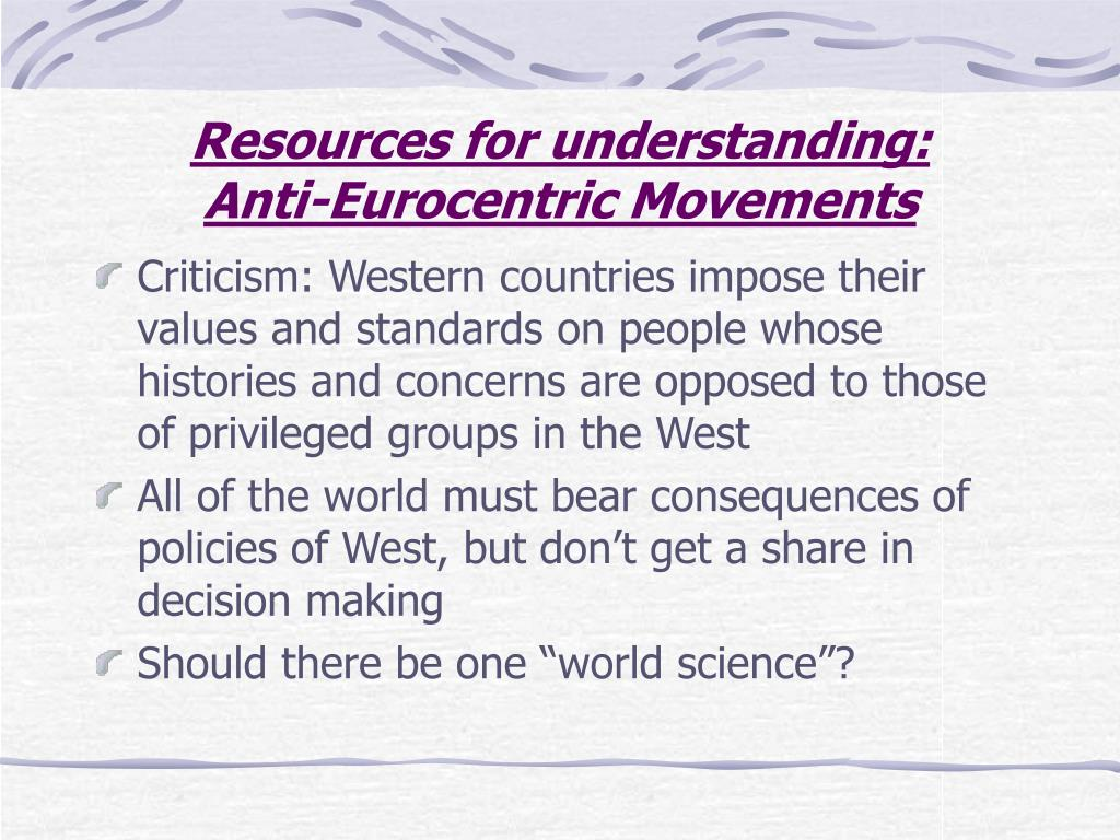 Resources for understanding: