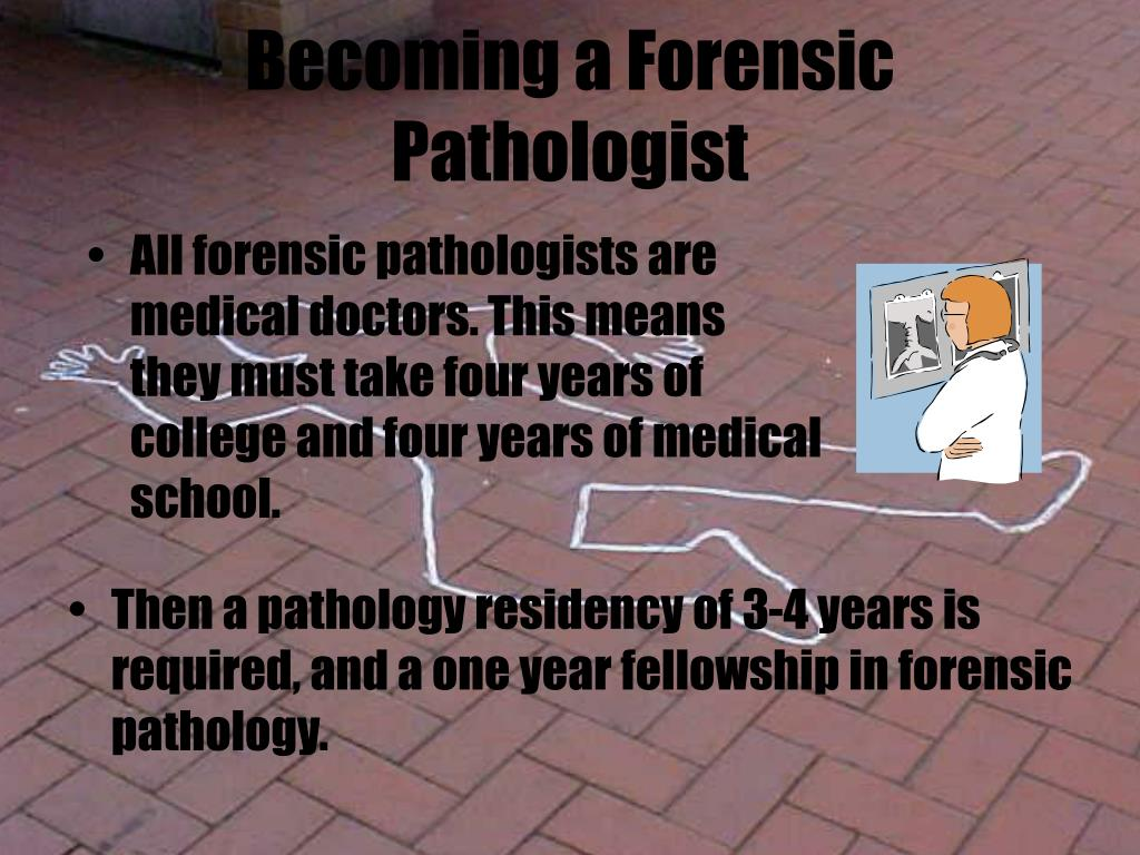 Becoming a Forensic Pathologist