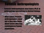 forensic anthropologists30