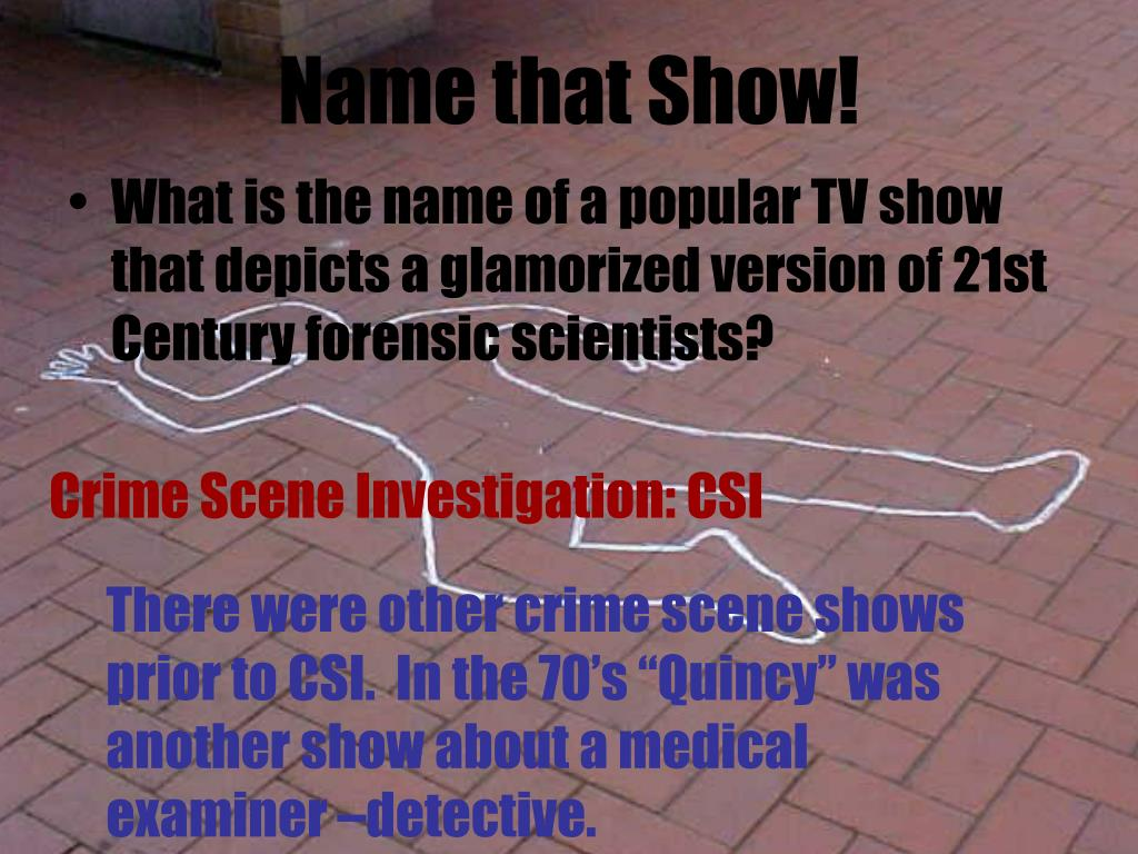 Name that Show!