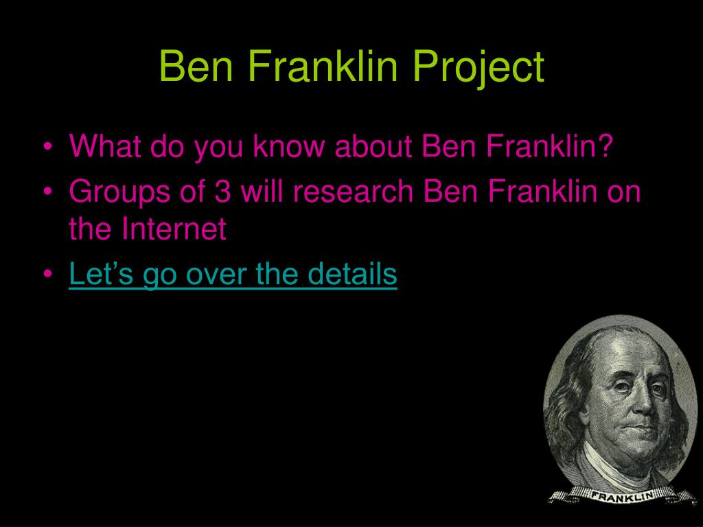 Ben Franklin Project