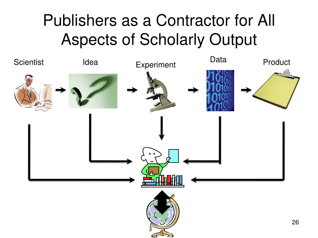 Publishers as a Contractor for All Aspects of Scholarly Output