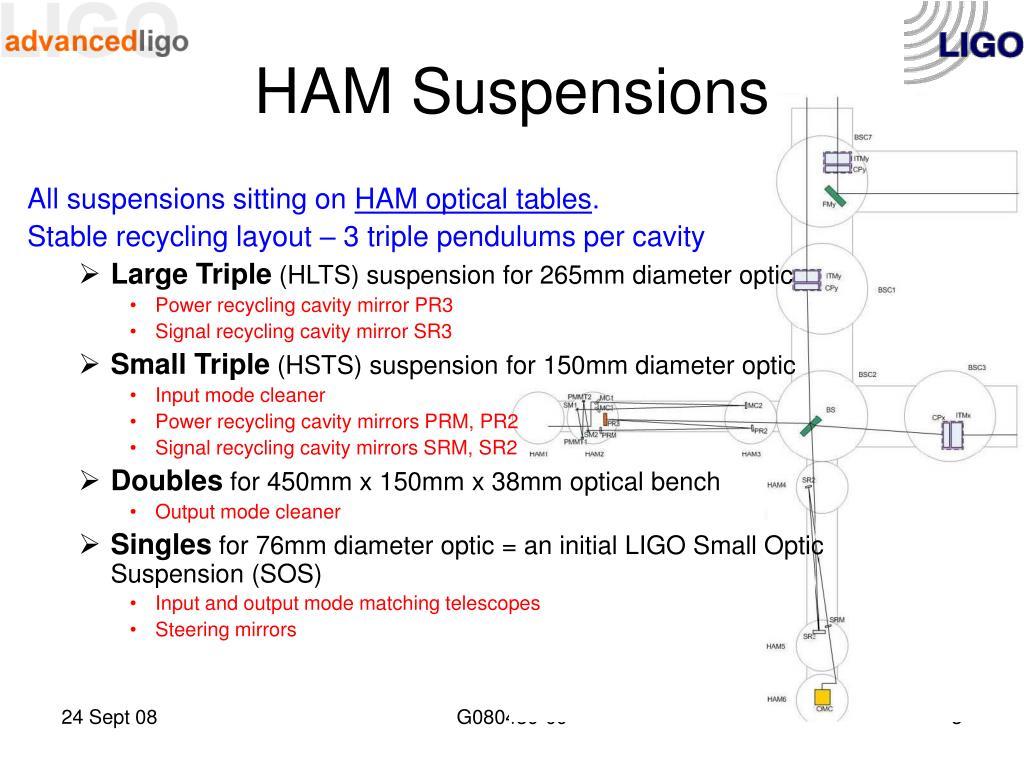 HAM Suspensions