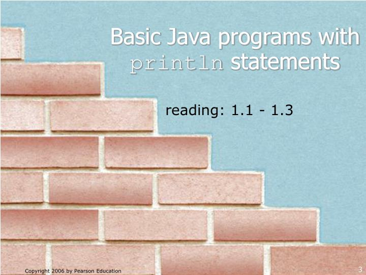 Basic java programs with println statements l.jpg