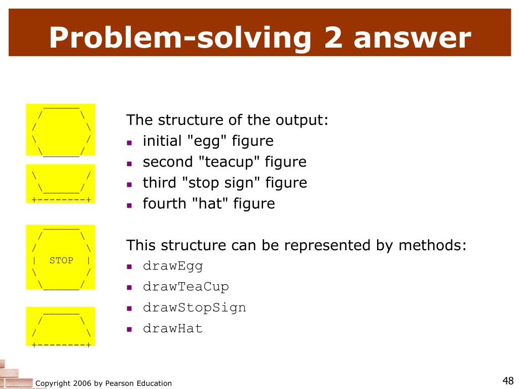 Problem-solving 2 answer