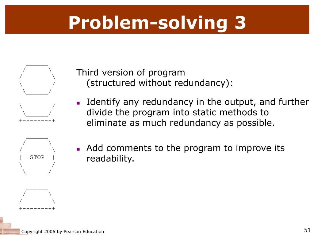 Problem-solving 3
