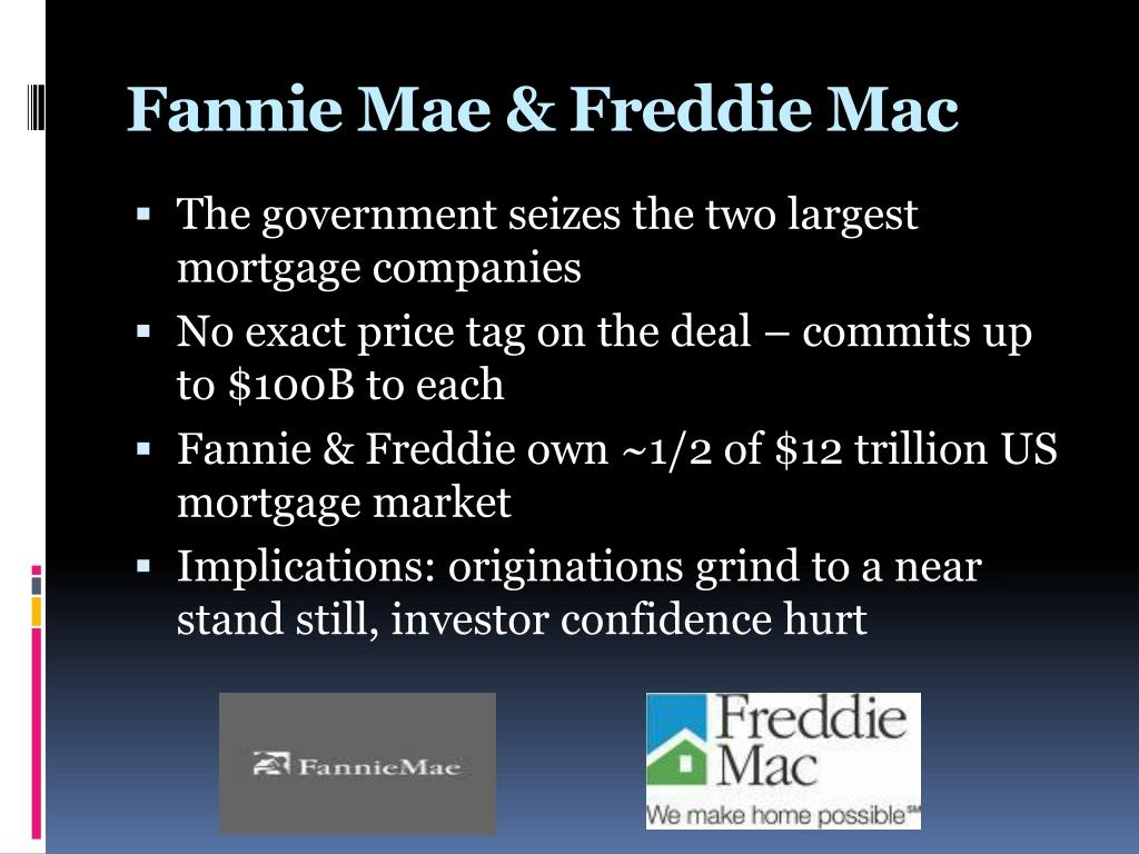 Ppt The Financial Crisis A Timeline Powerpoint